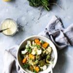 gluten free salad recipe, gluten free, dairy free, dairy free salad, vegan