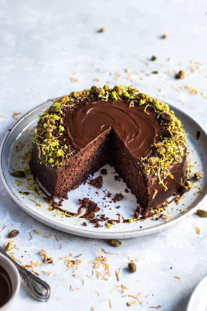 gluten free mud cake, gluten free chocolate cake, gluten free cake, cake recipe, mud cake recipe, dairy free mud cake