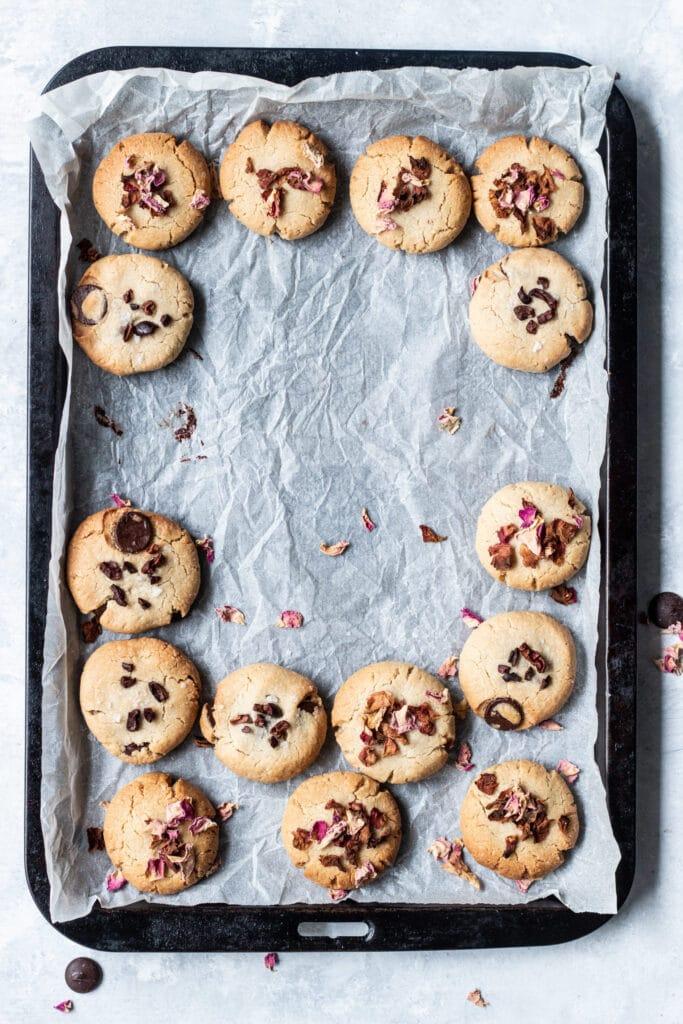 gluten free cookies, gluten free baking, dairy free cookies, dairy free, tahini, tahini cookies