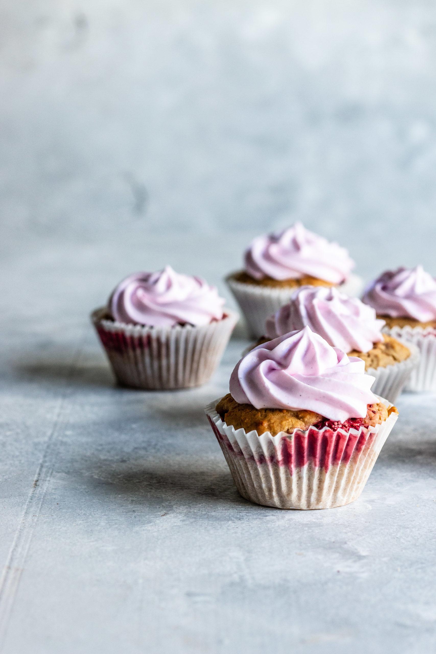 egg free baking, vegan cupcake recipe, vegan recipes, egg free recipes, cupcakes, strawberry cupcakes, strawberry and coconut cupcakes, gluten free cupcake recipes, dairy free cupcake recipes
