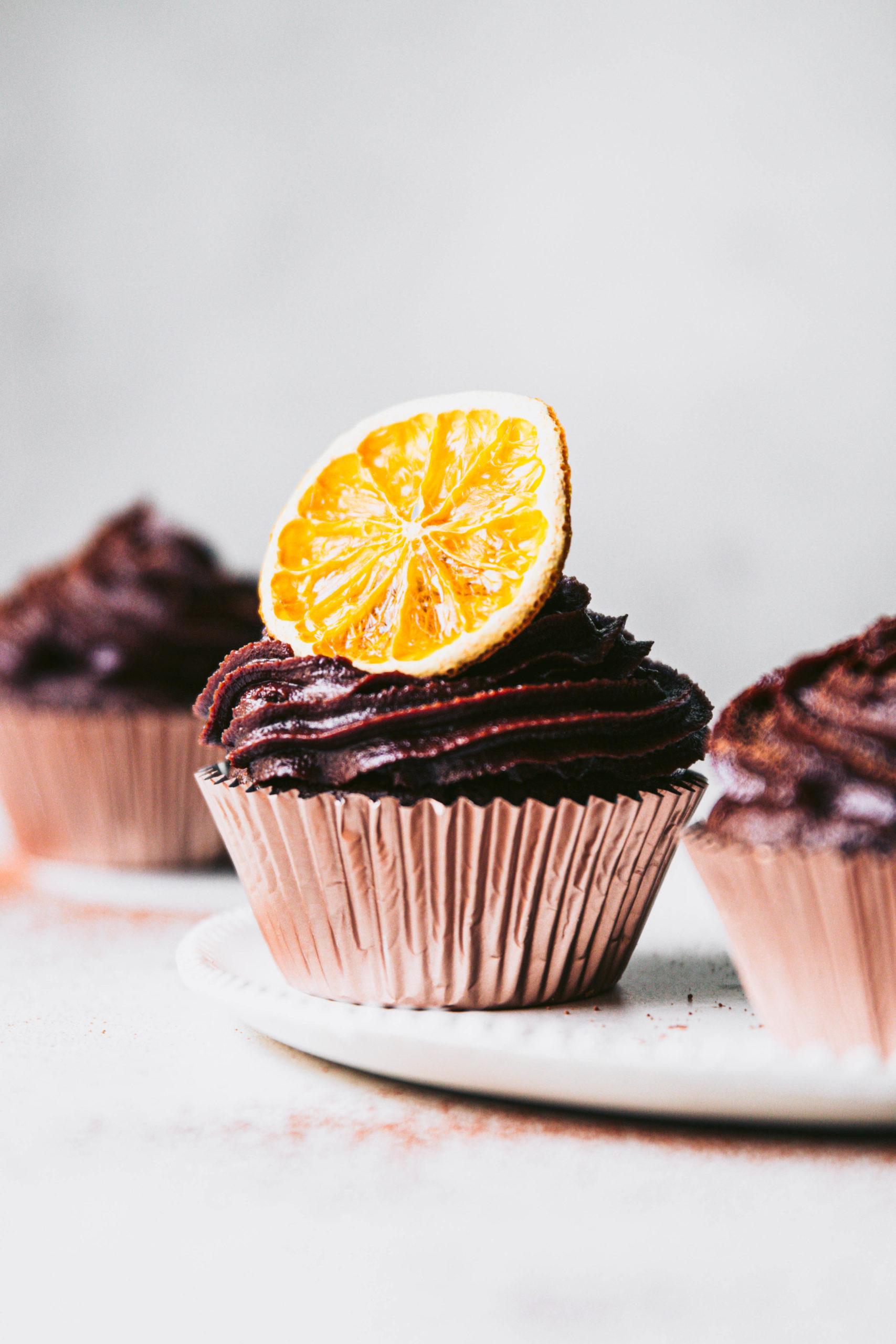 cupcakes, jaffa, chocolate, chocolate cupcakes, gluten free cupcake recipe, healthy cupcake recipe, chocolate Jaffa cupcakes, cacao, chocolate cashew frosting