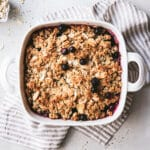 this is how you make a crumble