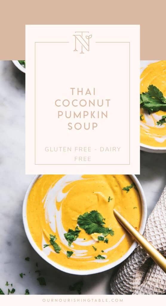 pantry ingredients, simple healthy recipes, pumpkin soup