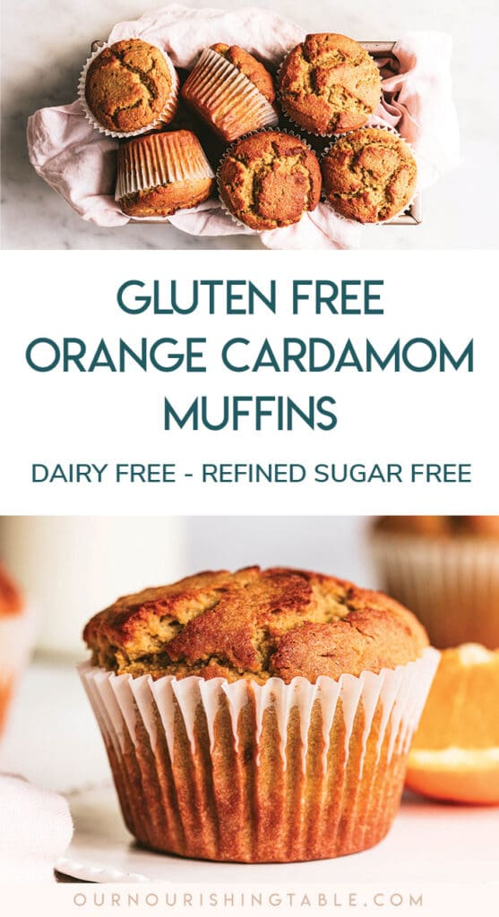 healthy refined sugar free, gluten free muffin recipe