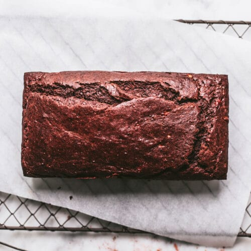 Vegan Chocolate Banana Bread recipe