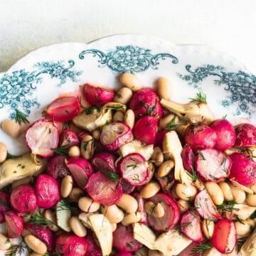 how to roast radishes