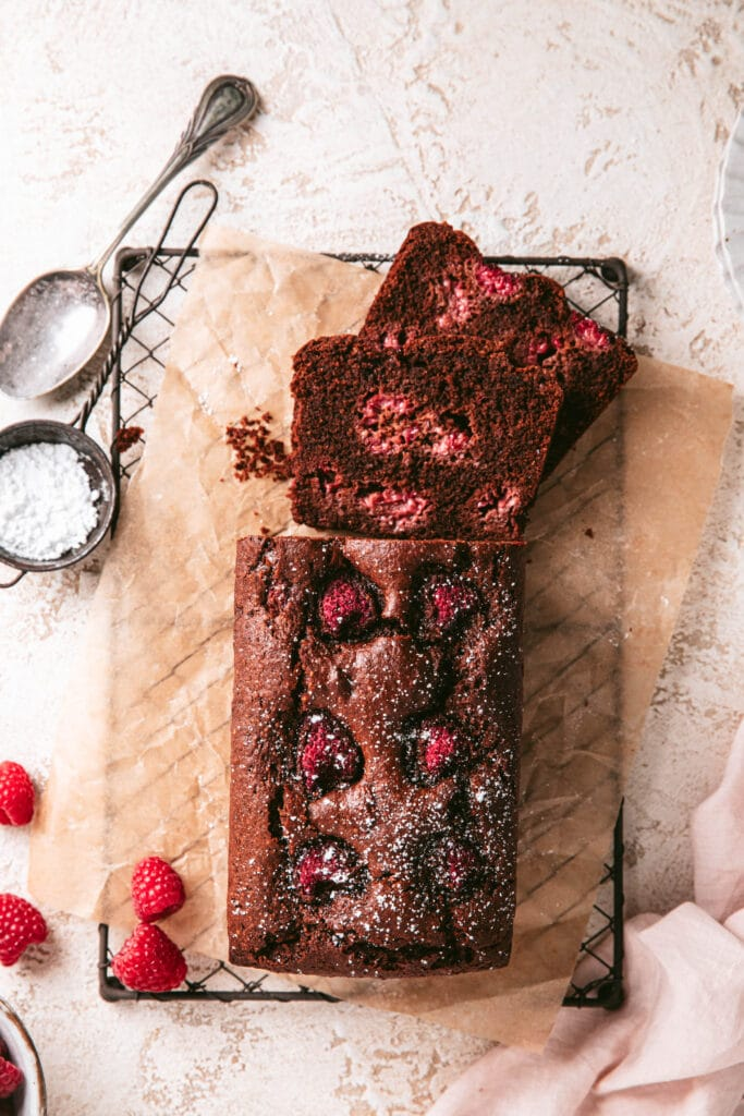 gluten free chocolate loaf