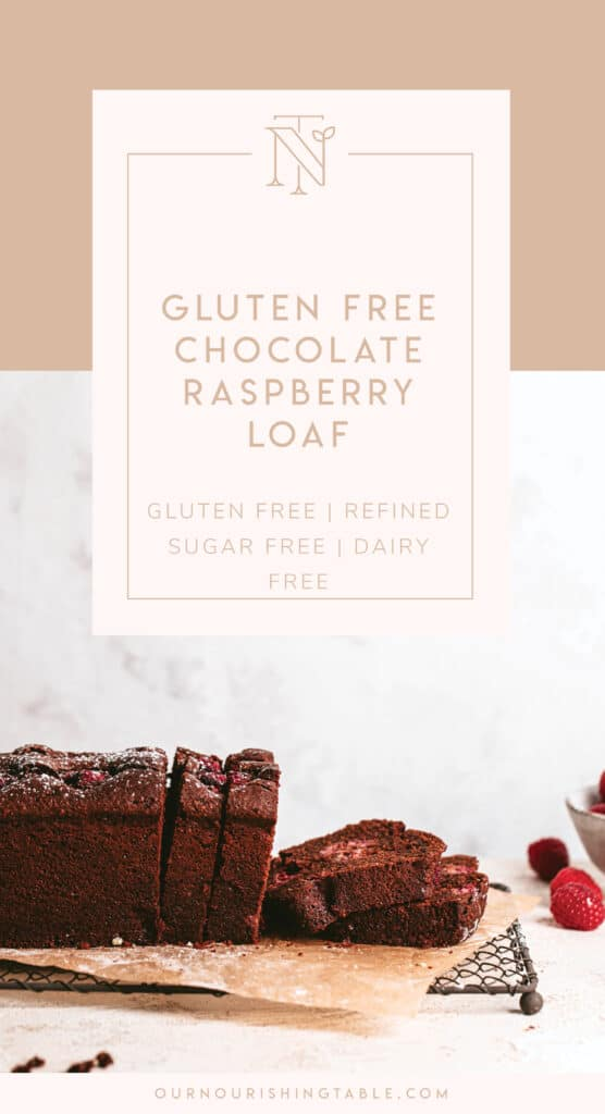 Gluten Free chocolate loaf recipe